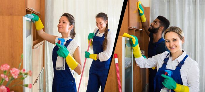 Siivousalan ammattilaiset